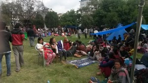 El campamento queda a dos horas de Katmandú