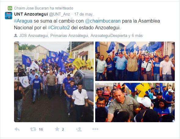 Chaim Bucaram Tweet