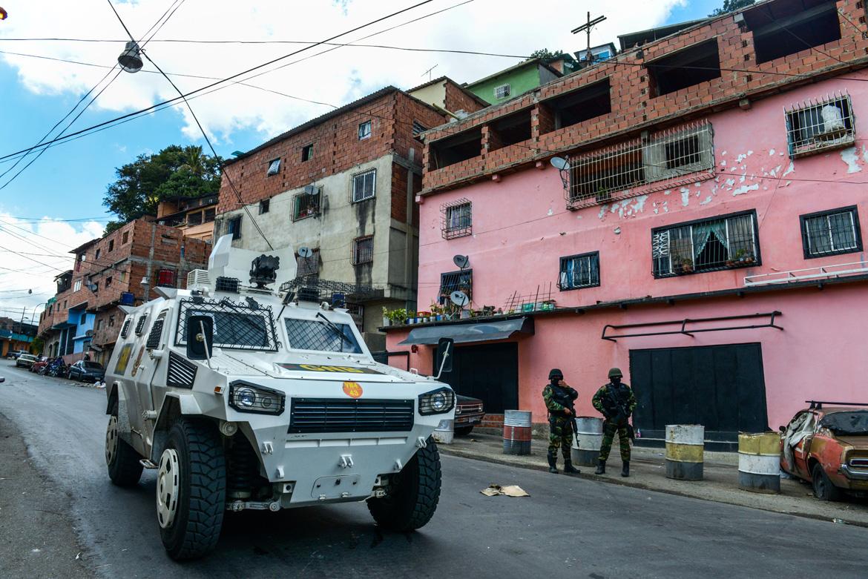 VENEZUELA-SHANTYTOWN-OPERATION