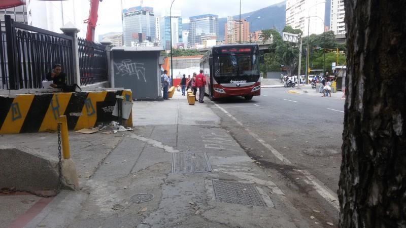 Metrobús Ruta: Bello Monte - Chuao