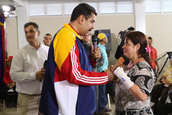 Maduro en Monagas