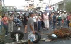 protesta en las tunitas