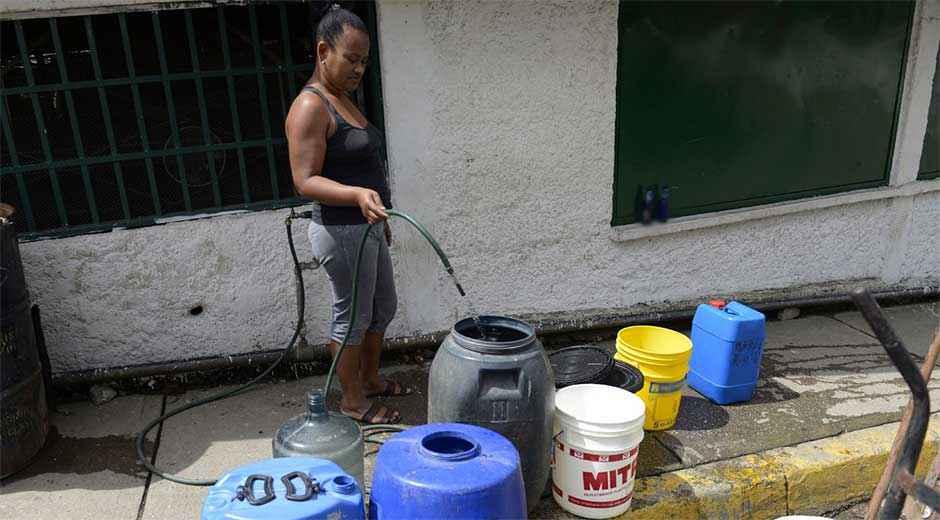 Caracas estar sin agua hasta cuatro d as por semana por for Racionamiento de luz en aragua