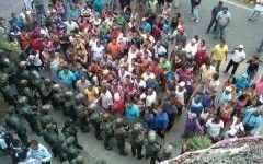 Comunidad Sabana de Parra protesta por comida