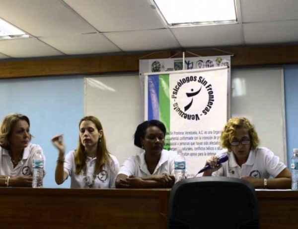 Psicólogos Sin Frontera Venezuela campaña Ucab Unimet
