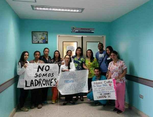 Protesta médicos Yaracuy