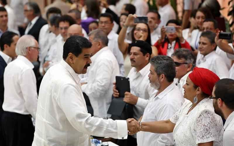 Nicolás Maduro, Paz, Habana, Colombia
