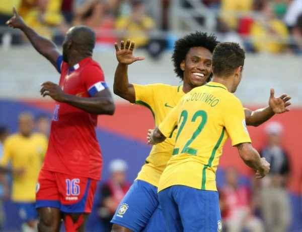 Brasil vs. Haití 1