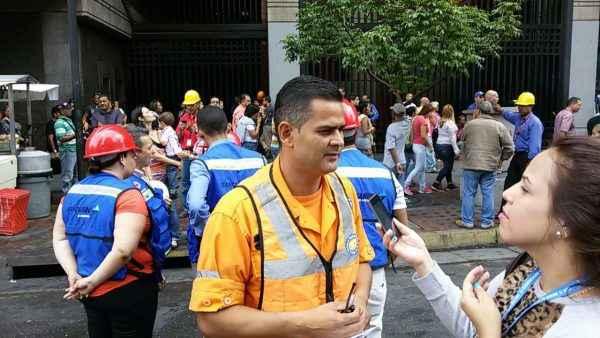 Yohan Prieto, director de Proteccción Civil Chacao