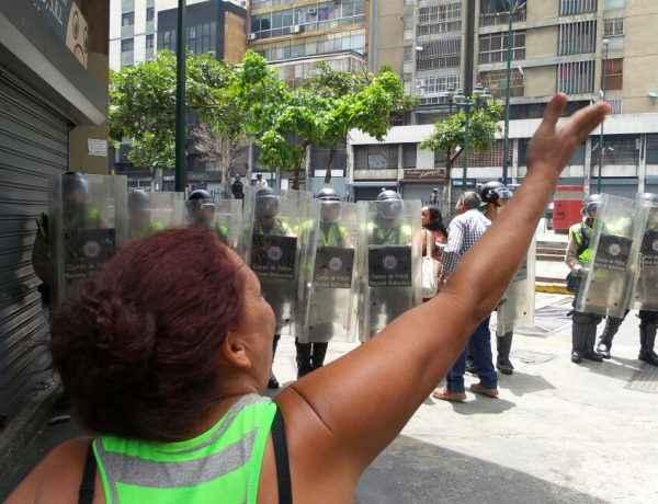 Protesta Fuerzas Armadas Efecto Cocuyo