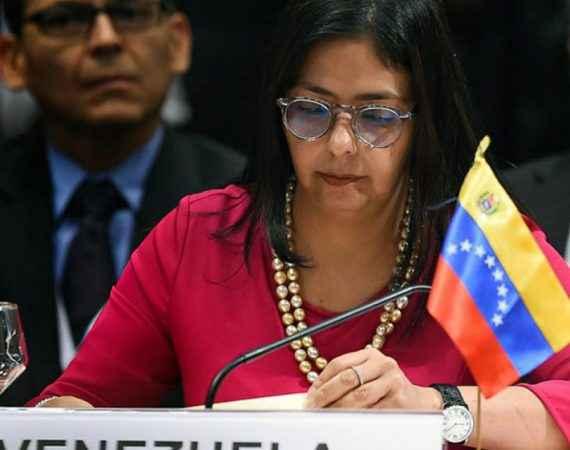 delcy rodriguez venezuela oea luis almagro