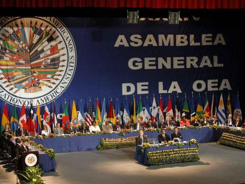 Buscan en la OEA un acuerdo por la crisis de Venezuela