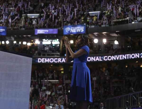 Michelle Obama Convención Demócrata 2016
