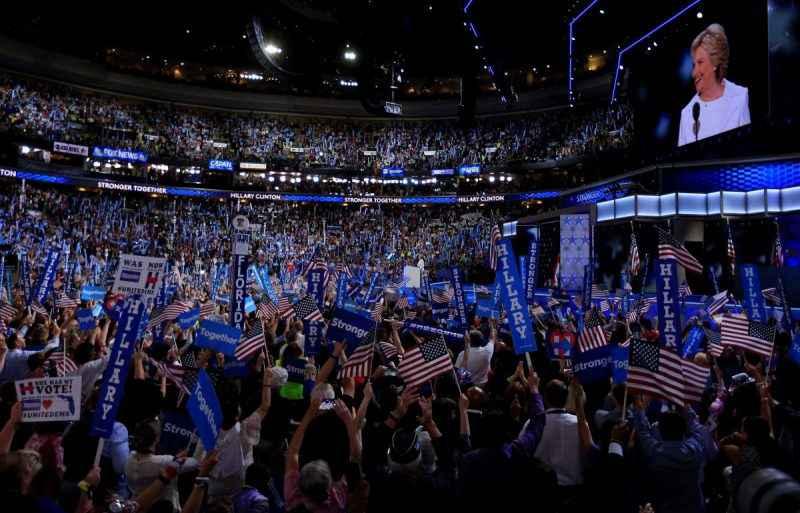 Hillary Clinton Convención Demócrata