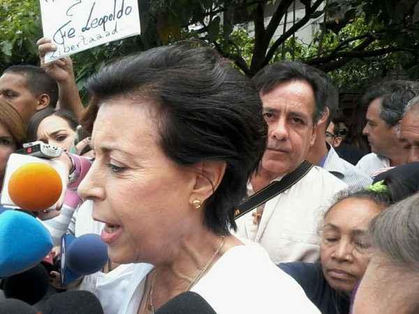 Antonieta Mendoza mamá de Leopoldo López VCML