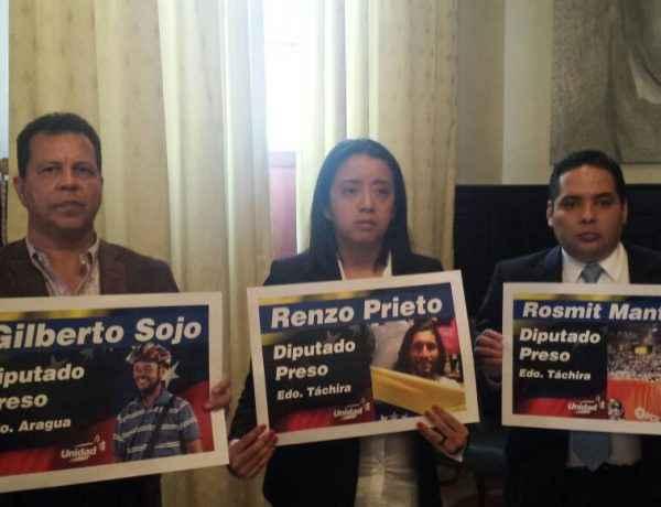 Renzo, Rosmit y Gilberto