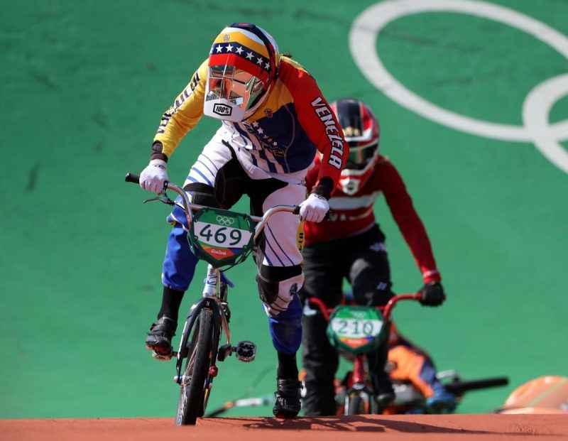Stefany Hernández final BMX