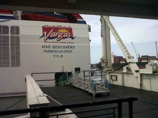 Ferry HSS Discovery - Foto: Twitter José Manuel Olivares
