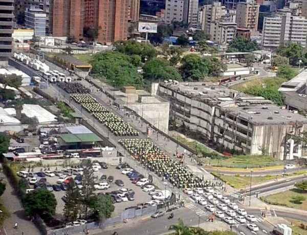 Despliegue en Plaza Venezuela
