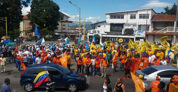 Hasta las 2:00 pm estarán los partidarios de la MUD en el Obelisco, en San Cristóbal