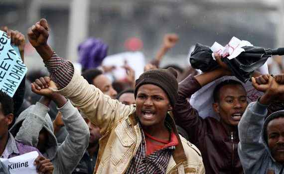 protestas - etiopia