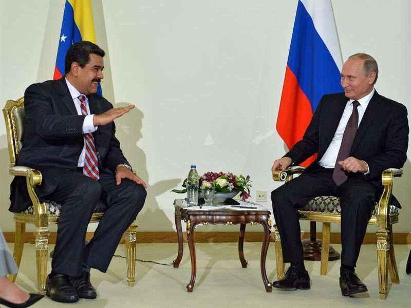 Putín, Maduro