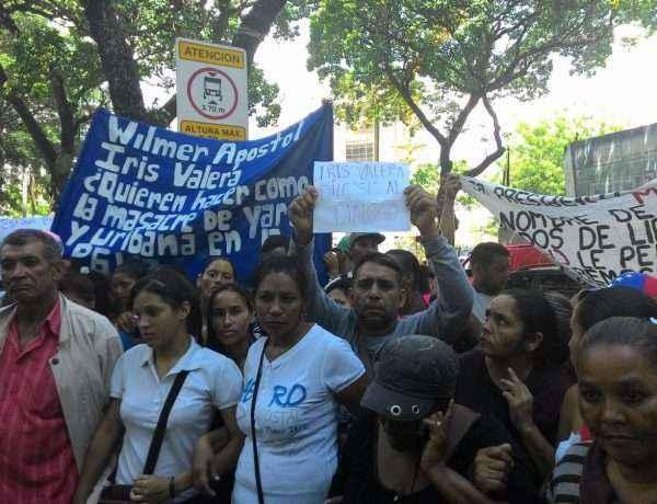 Manifestación de familiares de los reos de la PGV