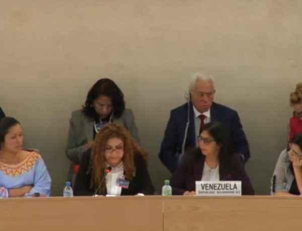 Iris Varela en la ONU