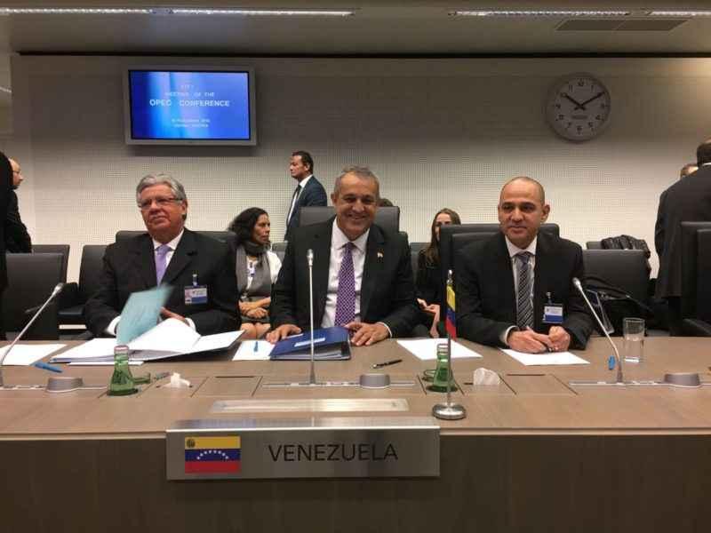 Acuerdo de la Opep para reducir producción de petróleo