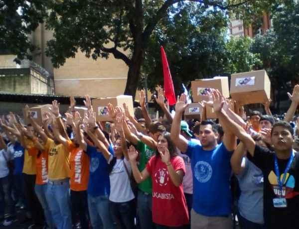 Protesta Movimiento Estudiantil