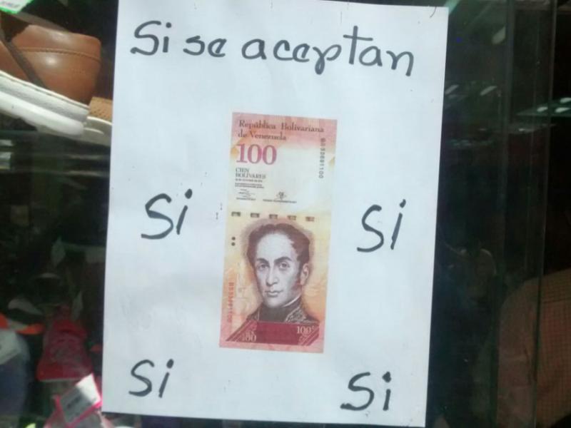 Gobierno prorrogó por séptima vez la circulación del billete de 100