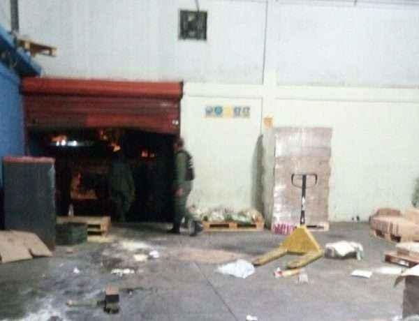 Ciudad Bolivar Mercal saqueado Pableysa Ostos