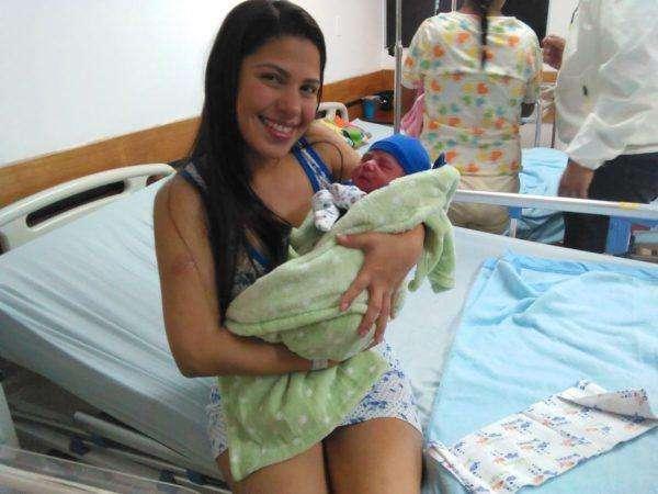 jeremmy anthuan ultimo bebe 2016 Maternidad VCML