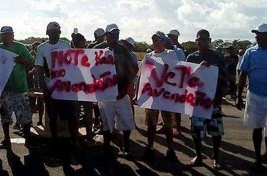 Protesta Cortesía Los Roques