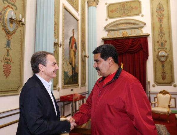 Rodríguez Zapatero y Nicolás Maduro