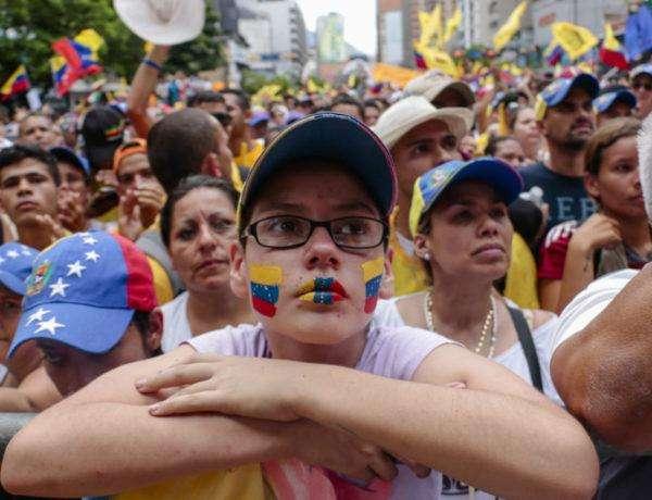 Chacao durante la marcha el 1S en la Toma de Caracas convocada por la MUD. 01.09.2016 Fotografía: Dagne Cobo Buschbeck.