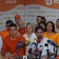 Venezuela: Voluntad Popular descarta participar en elecciones
