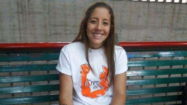 Rafaela Requesens, candidata a la presidencia de la FCU por Creo en la U