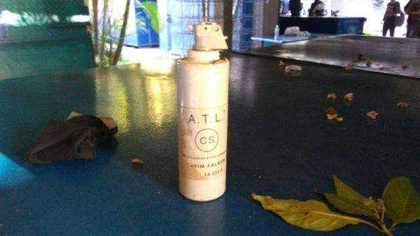 Foto Bomba de gas lacrimógeno