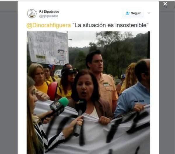 Protestaron en la autopista Francisco Fajardo para exigir elecciones