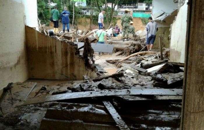 Más de 200 muertos por avalancha en Colombia