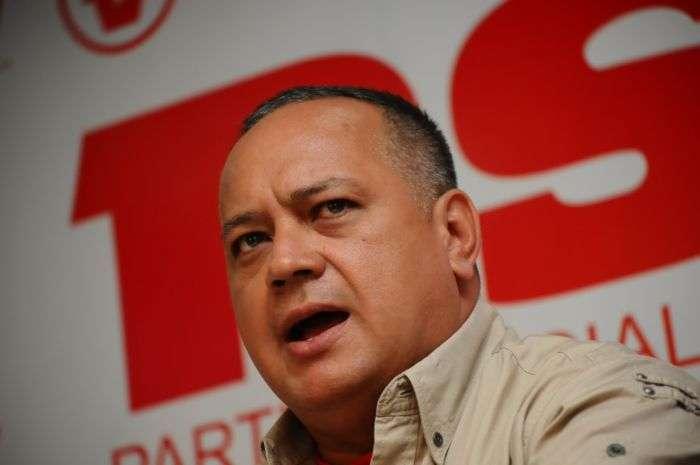 Cabello: Comienza la gran movilización chavista a Caracas