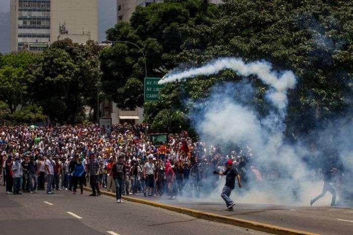 Tensión en Venezuela en