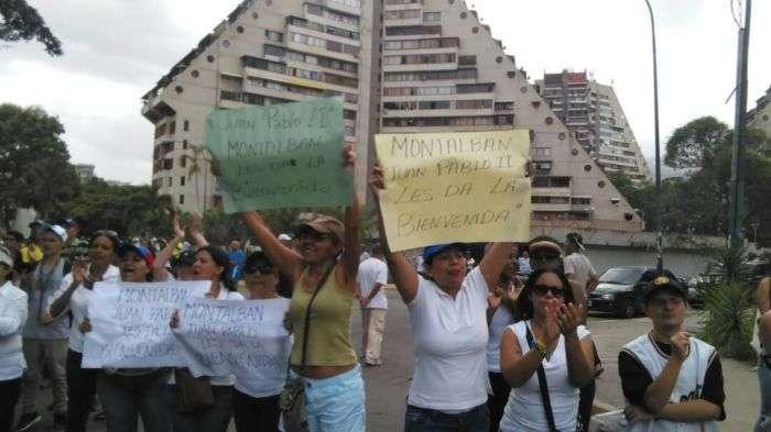 Policía dispersa marcha en Venezuela; hay un herido