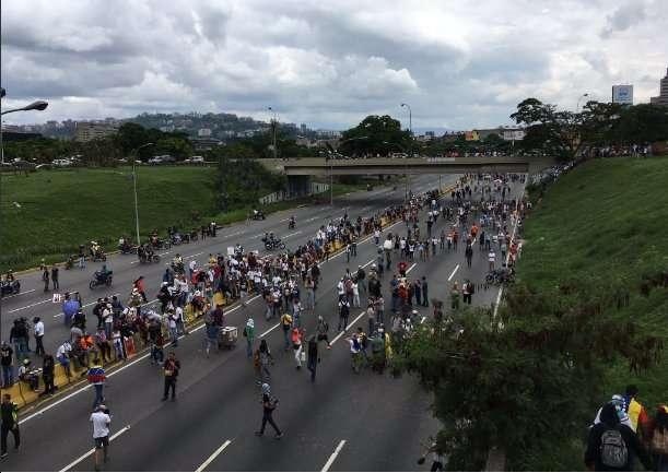 Caracas, Miranda y Vargas gritaron
