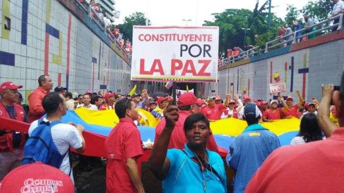 Rondón: CNE espera que promotores de la Constituyente consignen las bases comiciales