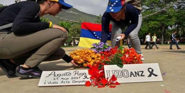 Presos cinco polibolívar y un miliciano por homicidio de Augusto Pugas