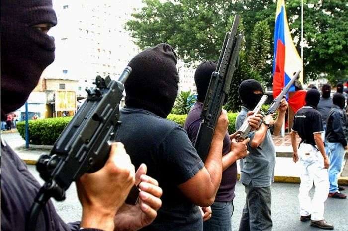 Régimen de terror. Los colectivos
