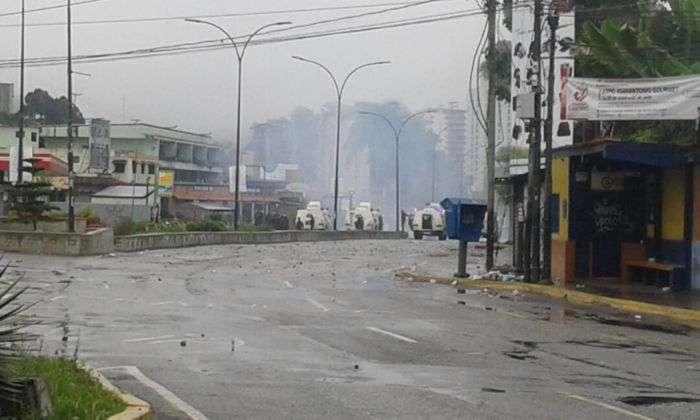 Muere un hombre durante una manifestación en el centro de Venezuela