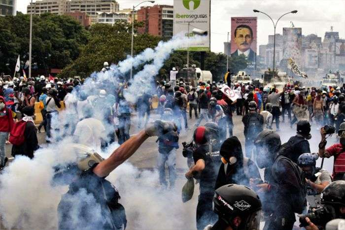 Muere joven tras ser herido en protesta
